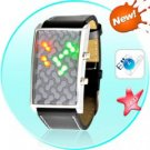 Genome - Japanese Inspired Red Yellow Green LED Watch
