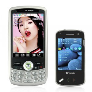 Black Allure - Mini China Cell Phone (Quadband, Dual SIM)