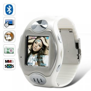 Thrifty Watch Phone (Quad Band, Bluetooth, Touchscreen)