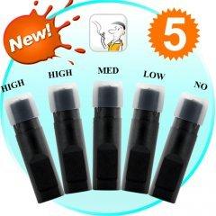 E-Cigarette Refill Pack w/5 Cartridges (for CVIJ-G202)