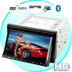Turismo G1 High-Def Touchscreen Car DVD Player with GPS + DVB-T