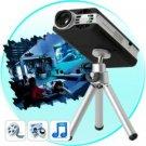 Mini Multimedia Projector with Remote