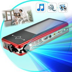 Mini Multimedia Projector with Micro SD (2 GB)