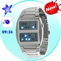 Templar - Japanese Inspired Blue LED Watch
