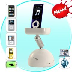 Resonance Speaker and iPod/iPhone Docking Station