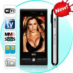 Barcelona - Quadband Dual SIM Wifi Touchscreen Worldphone