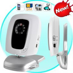 GSM Remote Security Camera with Night-Vision - Quad Band