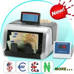 Money Counter and Counterfeit Note Detector