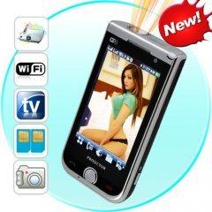 Mega Phone - Quadband, 2 SIM, WiFi, 3.2 Touchscreen + Projector