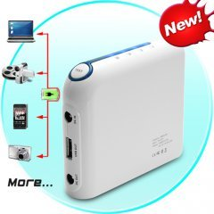 Portable Battery Charger for Laptops and USB Devices