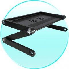 Portable Laptop Stand - Adjustable Laptop Desk (USB Cooling Fan)