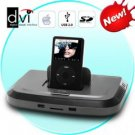 Super Deluxe Docking Station (USB, Bluetooth, iPod, iPhone, etc)