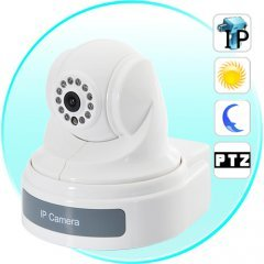 IP Camera with PTZ - Internet Surveillance Camera with Sony CCD