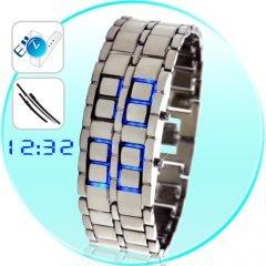 Ice Samurai - Japanese Inspired Blue LED Watch