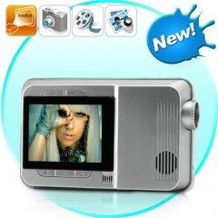 Multimedia Mini Projector with MP4 Player + Digital Camera