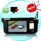 Sun Visor with 9 Inch LCD Monitor (Black, Right)
