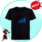 EL-Shirt - Sound Activated Light Shirt for Parties (Bottle-XL)