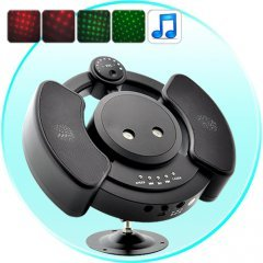 150mW Laser Projector with Stereo Speakers and MP3 Player (2GB)