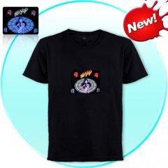 EL-Shirt - Sound Activated Light Shirt for Parties (Hip-Hop-L)
