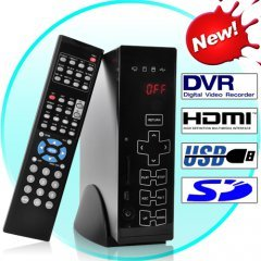 HDD Media Player and Digital Video Recorder