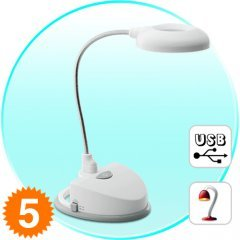 USB Desk Lamp with Sound Activation