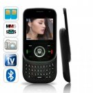 Carbon Slider Dual SIM China Cell Phone w/ Keyboard