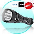 Waterproof CREE LED Flashlight with Long Throw Reflector