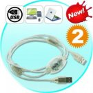 USB Easy Transfer Cable - Direct Link Computer Accessory