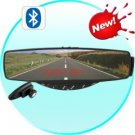 Car Bluetooth Clip-On Rearview Mirror with Hidden LED Display