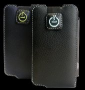 For iPhone 3G leather case with pogo stylus