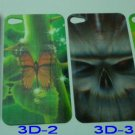 3D sticker for iPhone 4 cover