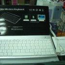 Mini wireless keyboard for iPad iPhone Mac