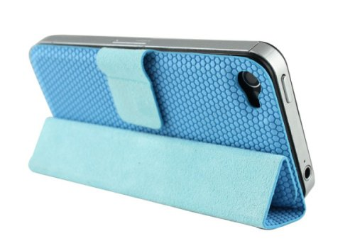 Magnetic stand case for iPhone 4S and iPhone 4- B style smart case