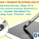 Pogo Connect Smart Stylus +  Standard Tip (2-Pack)