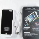 4200 mAh external backup battery case for iPhone 5 with stand