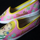 Barbie Hand Painted Shoes (women's slip on)