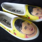 Personalized Portrait Hand Painted Shoes (women's slip on)