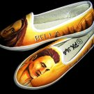 Twilight Edward Bella Hand Painted Shoes (women's slip on)