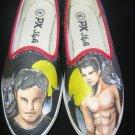 Twilight Jacob Hand Painted Shoes (women's slip on)