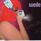 """Suede """"Saturday Night"""" Import CD NEW Condition!"""