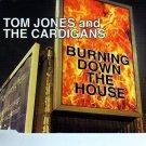 """Tom Jones & The Cardigans """"Burning Down The House"""" + Bonus Tracks Import CD"""