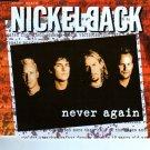 "Nickelback ""Never Again"" Import Compact Disc Bonus Live Songs"