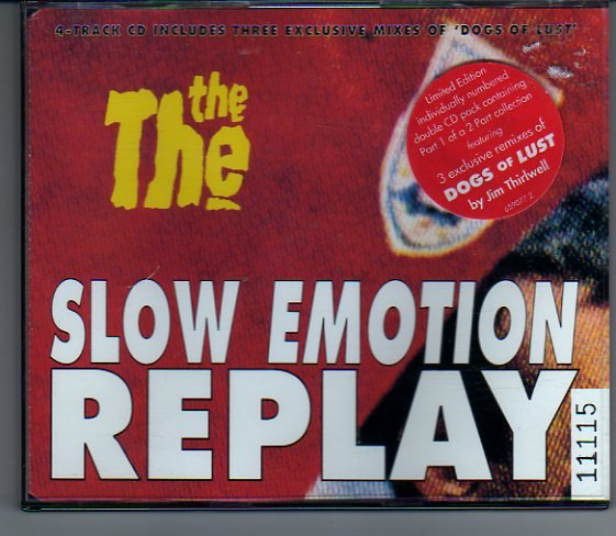 "The The ""Slow Emotion Replay"" 2-CD Remix Box Set"