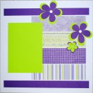 Friends Purple & Green