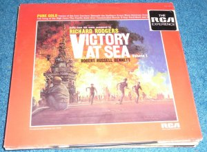 Bennet Victory At Sea LP Volume 1 New Sealed