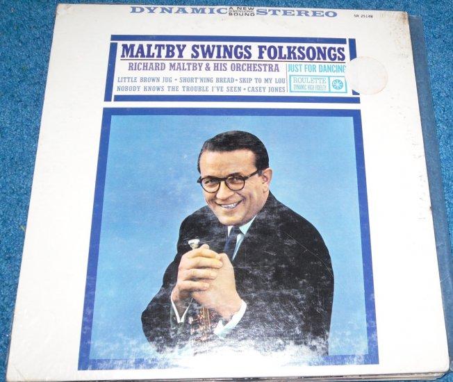 Richard Maltby Swings Folksongs LP Jazz