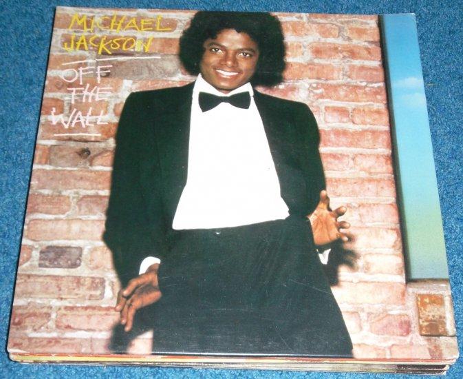 Michael Jackson Off the Wall LP Vinyl Record