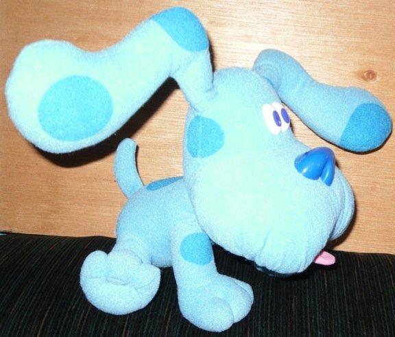Blues Clues Plush Dog Tyco