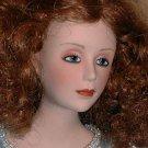 Franklin Mint Heralding Angel Porcelain Doll