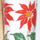 Boscul Peanut Butter Glass Poinsettia Flower